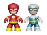 """DC Universe 2"""" Mini Mezitz 2 Pack The Flash & Captain Cold Figures"""