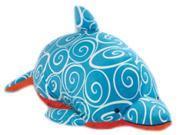 "My Pillow Pets 18"" Square Plush Pillow Retro Dolphin"