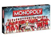 Power Rangers Monopoly Board Game