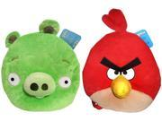 "Angry Birds Plush 12"" Backpack: Set Of 2"
