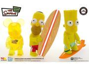"Sdcc 2008 Simpsons 3"" Qee 3 Pack"