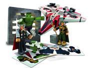 Marvel Avengers Assemble Papercraft Avenjet Aircraft Vehicle Pack