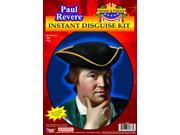 Paul Revere Instant Costume Disguise Kit Adult One Size