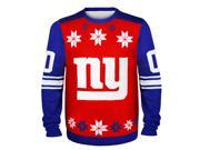 New York Giants Team Jersey NFL Ugly Sweater X-Large