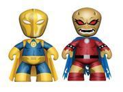 """DC Universe 2"""" Mini Mezitz 2 Pack Dr. Fate & Demon Etrigan Figures"""