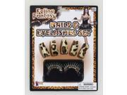 Feline Fantasy Leopard Nails & Lashes Costume Accessory Set