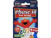 Sesame Street Phase 10 For Kids Card Game