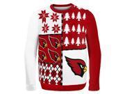 Arizona Cardinals Busy Block NFL Ugly Sweater Medium