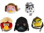 "Angry Birds Star Wars 16"" Plush Set Of 5"