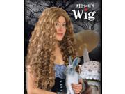 Alice In Wonderland Brown Adult Costume Wig