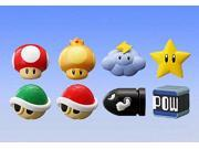 Super Mario Bros Mario Kart Mini Figure Set Of 8