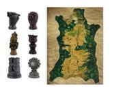 Game Of Thrones Map & Marker Piece Set