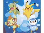 Pokemon Sleeping Bag Turtwig, Chimchar, Piplup And Pikachu