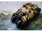 Batman The Dark Knight Rises 1:6 Camo Batmobile Tumbler By Hot Toys