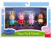 """Peppa Pig and Friends 3"""" Figure 4-Pack"""