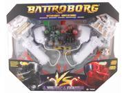 Battroborg Arena Pack With Green and Red Battroborg