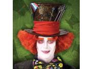 Alice In Wonderland Mad Hatter Orange Adult Costume Wig