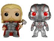 Marvel Avengers Age of Ultron Funko POP Vinyl Set of 2, Thor and Ultron