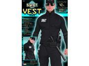 S.W.A.T. Costume Vest Adult One Size Fits Most