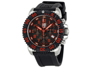 Luminox Navy SEAL Colormark Chronograph Black Dial Mens Watch 3195
