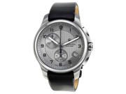Victorinox Swiss Army Officers Chronograph Grey Dial Steel Mens Watch 241553.2