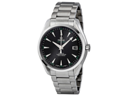Omega Aqua Terra Chronometer Black Dial Steel Mens Watch 231.10.42.21.01.001