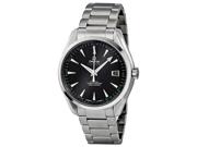 Omega Aqua Terra Chronometer Black Dial Steel Mens Watch 231.10.42.21.01.001