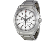 Omega Aqua Terra Silver Dial Chronograph Automatic Mens Watch 23110445004001