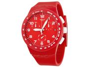 Swatch Red Shadow Unisex Watch SUSR400