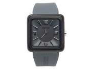 Kenneth Cole Reaction RK1261 Grey Square Face Grey strap Woman's Watch
