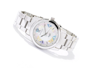 Invicta Women's Angel Mosaic Swiss Quartz Mother-of-Pearl Stainless Steel Watch