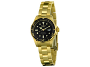 Invicta Women's 4869 Pro Diver 660ft Collection 23K Gold-Plated Steel Date Watch