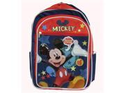 """Disney Mickey Mouse Clubhouse Say Cheese 16"""" Large Backpack"""