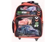 Disney Cars 2 World Grand Prix Lineup Toddler Rolling Backpack