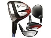 Nike Victory Red Pro STR8-FIT Tour Fairway LH #3 15 Graph 5.5 NEW