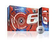 2015 Bridgestone e6 USA Limited Edition Golf Balls 1 Dozen White NEW