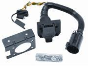 20119 Tow Ready Multi-Plug T-One Connector 7-Way / 4-Flat Combo Adapter Harness