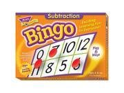 Subtraction Bingo Games