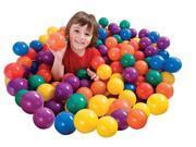 INTEX Small Plastic Multi-Colored Fun Ballz - 100 Pack | 49602EP