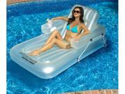 Swimline 90521 Swimming Pool Inflatable Kickback Lounger Adjustable Float