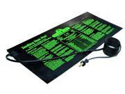 """NEW HYDROFARM MT10006 10x20"""" 17W Seedling Heat Mat"""