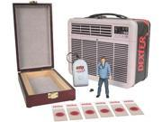 Dexter Tin Tote with Blood Slide Box with Action Figure
