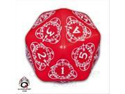 D20 Red and White Level Counter