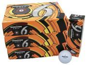 6 Dozen NEW Bridgestone e6 Straight Distance 72 Golf Balls - White