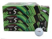 3 Dozen NEW Bridgestone e5 Distance and Control 36 Golf Balls White