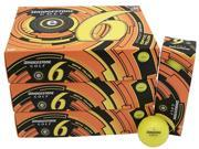 6 Dozen NEW Bridgestone e6 Straight Distance 72 Golf Balls - Optic Yellow