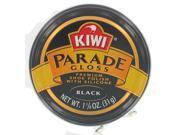 Kiwi 103-011 Black Parade Gloss Premium Shoe Polish with Silicone