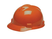 Msa Safety Works 475361 Hard Hat With Ratchet Orange V-Gard Type 1 Polyethylene