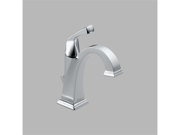 Delta 551-DST Dryden Single Hole 1-Handle High-Arc Bathroom Faucet in Chrome