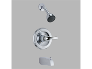 Delta Faucet T13420-SOS Delta Classic Tract Pack Tub And Shower Trim Kit Chrome